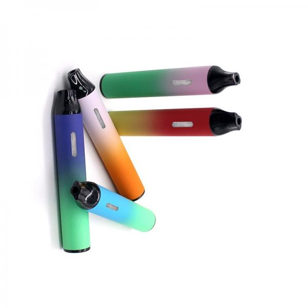 2020 heavy-metal-free leakage proof empty disposable cbd vaporizer vape pen with 316 SS material #2 image